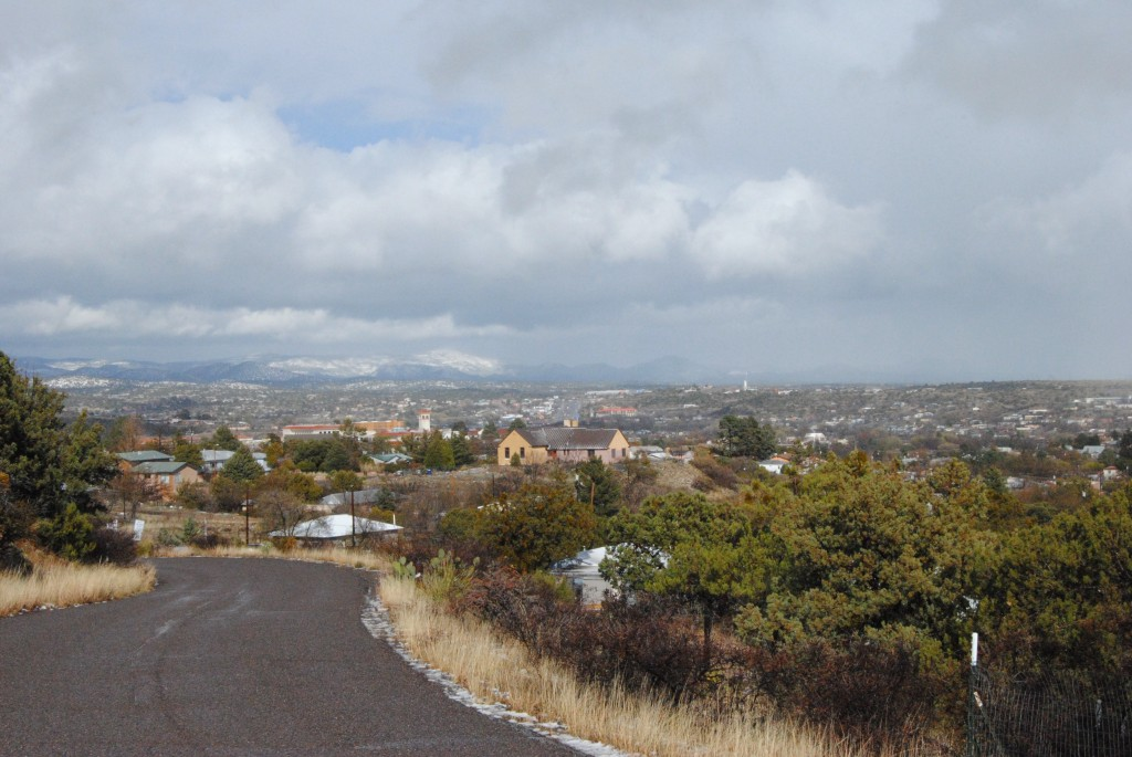(Press Staff Photo by Geoffrey Plant) Silver City, as seen from Snake Hill, after an intense storm moved through the area on the afternoon of March 13, 2019. Grant County saw many types of weather in 2019, and received greater than average rainfall.