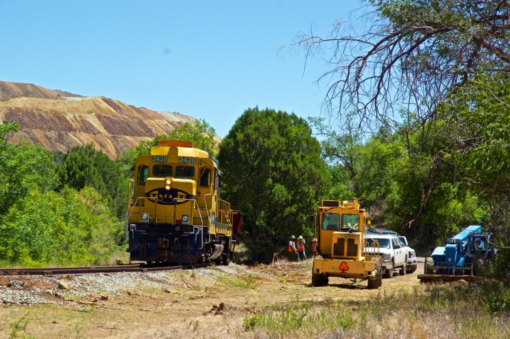"A Southwestern Railroad work train car derailed at low speed last week — twice — on a rarely used section of track just one-tenth of a mile north of the intersection of Fierro Road and N.M. 152 in Hanover. There were no injuries and was ""zero damage"" as a result of the derailments Thursday and Friday, according to the company. ""It was very minor,"" said Southwestern Railroad Senior Vice President Bruce Carswell. ""They were in the same spot right next to the road, and involved the same car. Our crew fixed what was wrong between the car and the track."""